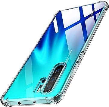 Warxin Funda para Huawei P30 Pro, Ultra Hybrid TPU Transparente ...