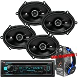 Package Kenwood KDC-BT31 Bluetooth In-Dash CD/AM/FM Car Stereo Receiver + ...