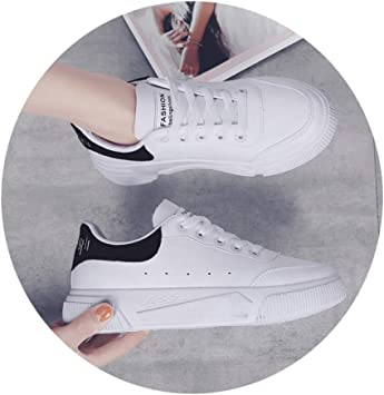Women Classic White Sneakers Breathable