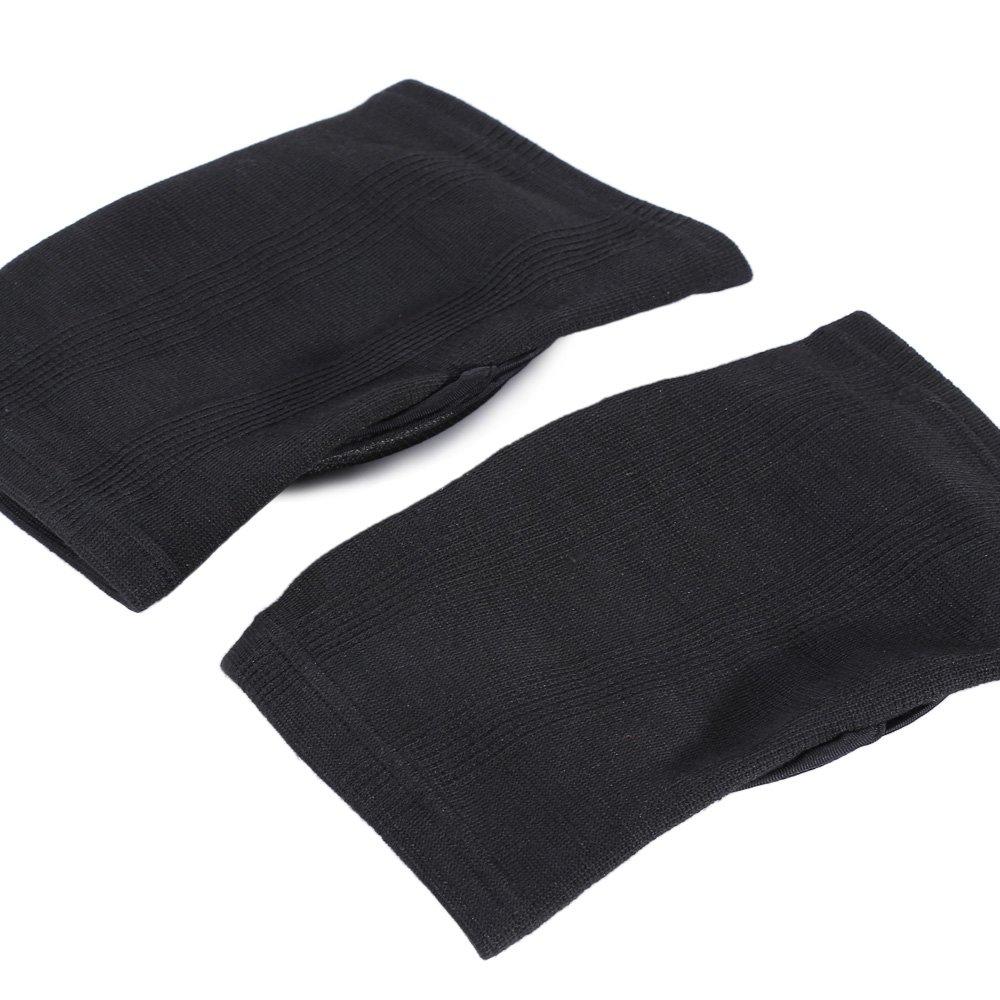 Deportes protector del coj/ín de Rugby de la rodilla Black 1 par espesan voleibol rodilleras se preparan para la rodilla de protecci/ón ayuda de la rodilla