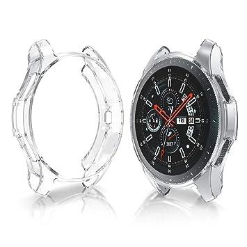 Yayuu Estuche para Samsung Galaxy Watch 42mm, TPU Suave Estuche ...