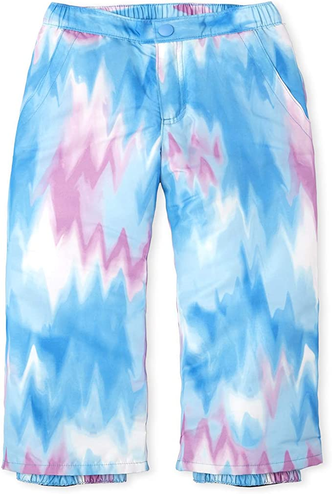 The Childrens Place Girls Print Snow Pants