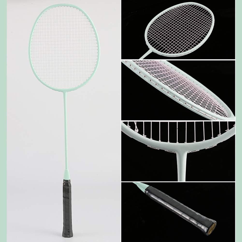 Sac de Transport Inclus Convient pour Les Joueurs de Tout Niveau Senston Paire de 2 Raquettes de Badminton et 3 Volants