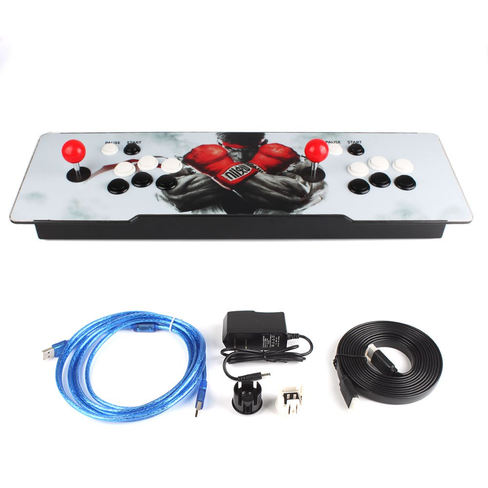 1099 in 1 Pandora's Box 6 Arcade Console Double Joystick Video Games HDMI USB #1