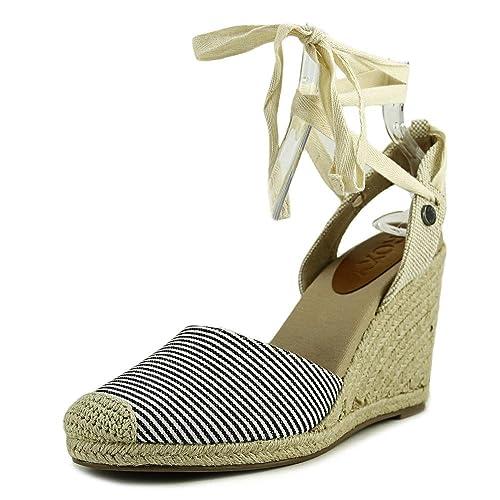 Womens Bolsa Closed Toe Casual Platform Sandals