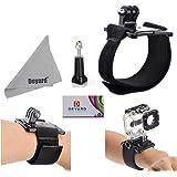 DEYARD Wrist Mount for HERO Cameras Hero5 Session Hero4 Session Hero5 Hero4 3+ Hero3 Hero2 GoPro 1 Wrist Strap + Thumb Screw Knob