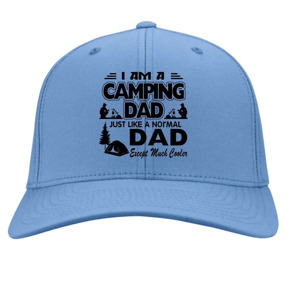 Just Like A Normal Daddy Hat Im A Camping Dad Knit Cap