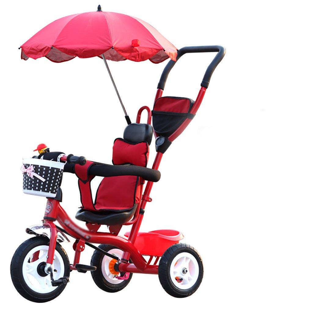 子供の三輪自転車/1-5歳のベビー/子供用自転車 (色 : B) B07DVFTXXY B B
