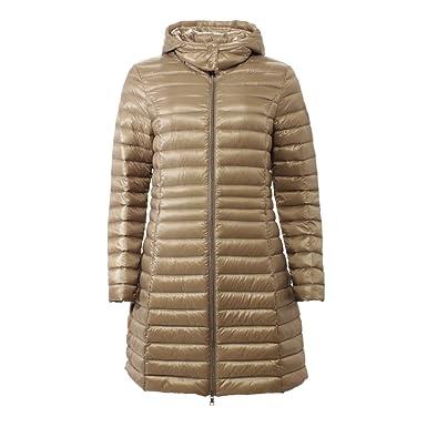 Brandneu neue Season innovatives Design No.1 COMO Daunenmantel MILANO women - 5400 beige: Amazon.de ...