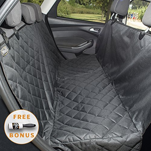 YoGi Prime - Dog seat covers for cars - Dog Car Hammock Style Waterproof Car Seat Covers for dogs, Pet Seat protectors for Trucks SUVs - XL pet car seat covers best gift (Luxury PADDED)