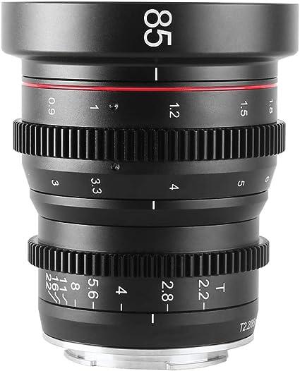 Meke 85mm T2 2 Mini Fixed Prime Manueller Fokus Kamera