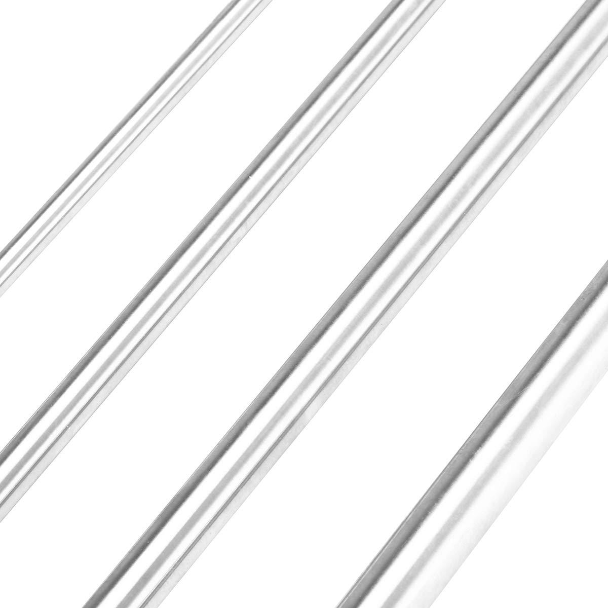 12Mm EsportsMJJ 6//8//10//12Mm Di/ámetro Varilla Longitud 400Mm Cilindro De Acero Linear Rail Eje Lineal Eje /Óptico