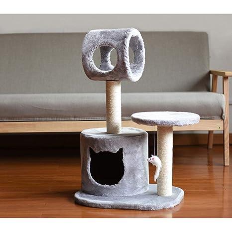 AB pet nest Mascota Nido Parque de Gatos Simple y Estable sisal Gato Grande Gato Gato de Gato Que Sube el Marco Gato rascarse Tabla Columna de Gatos una ...