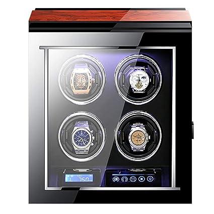 Amazon.com: MZP caja de reloj automático con pantalla táctil ...