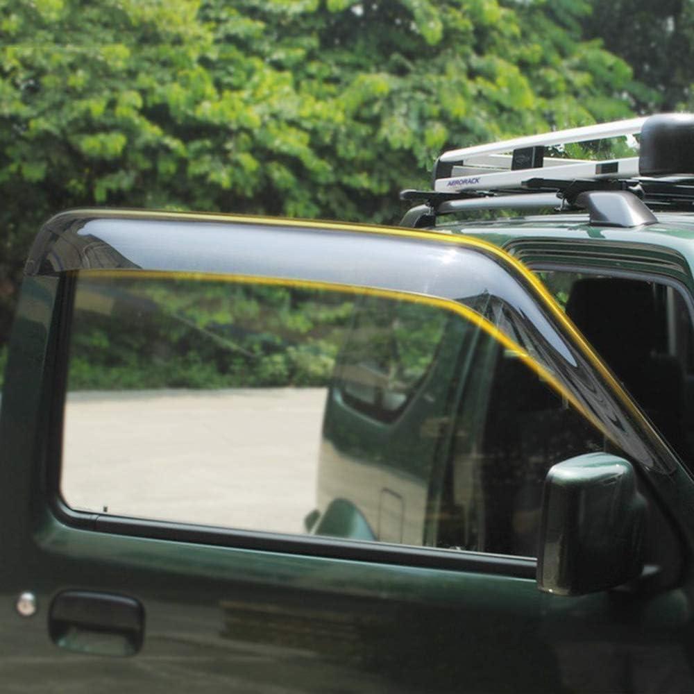 ZHANGDAN Cristal de la Ventana Protecci/ón contra la Lluvia y el Sol Sombrilla Accesorios del autom/óvil para Suzuki Jimny 2007 2008 2009 2010 2011 2012 2013 2014 2015 2016 2017 Toldos de Visera