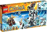 Toy Lego Lego Legends of Chima Cima Set # 70147 Sir Fangar's Ice Fortress [parallel import goods]