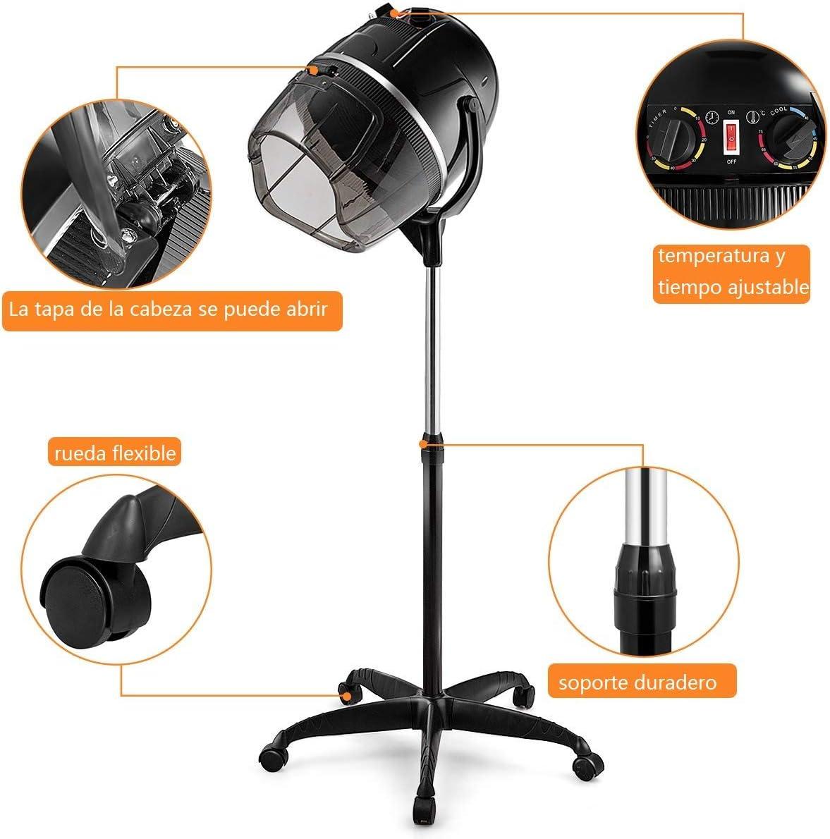 Mejores secadores de casco baratos Costway