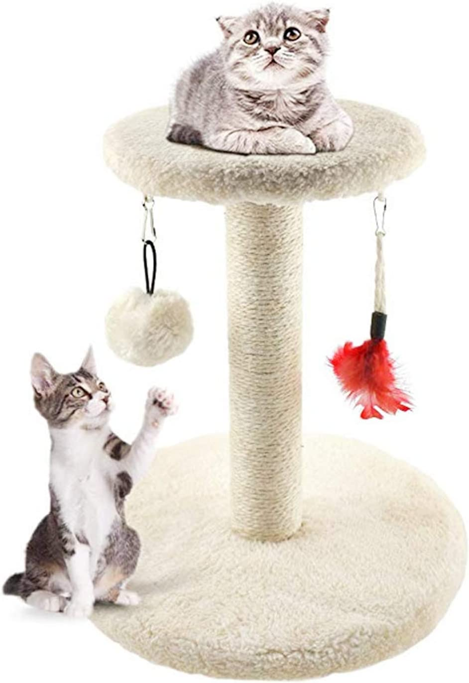 MXiiXM Cat Tree Tower, cat Climbing Frame Furniture Scratching Post for Kitty Climber House Cat Play Tower Activity Centre for Playing Relax and Sleep