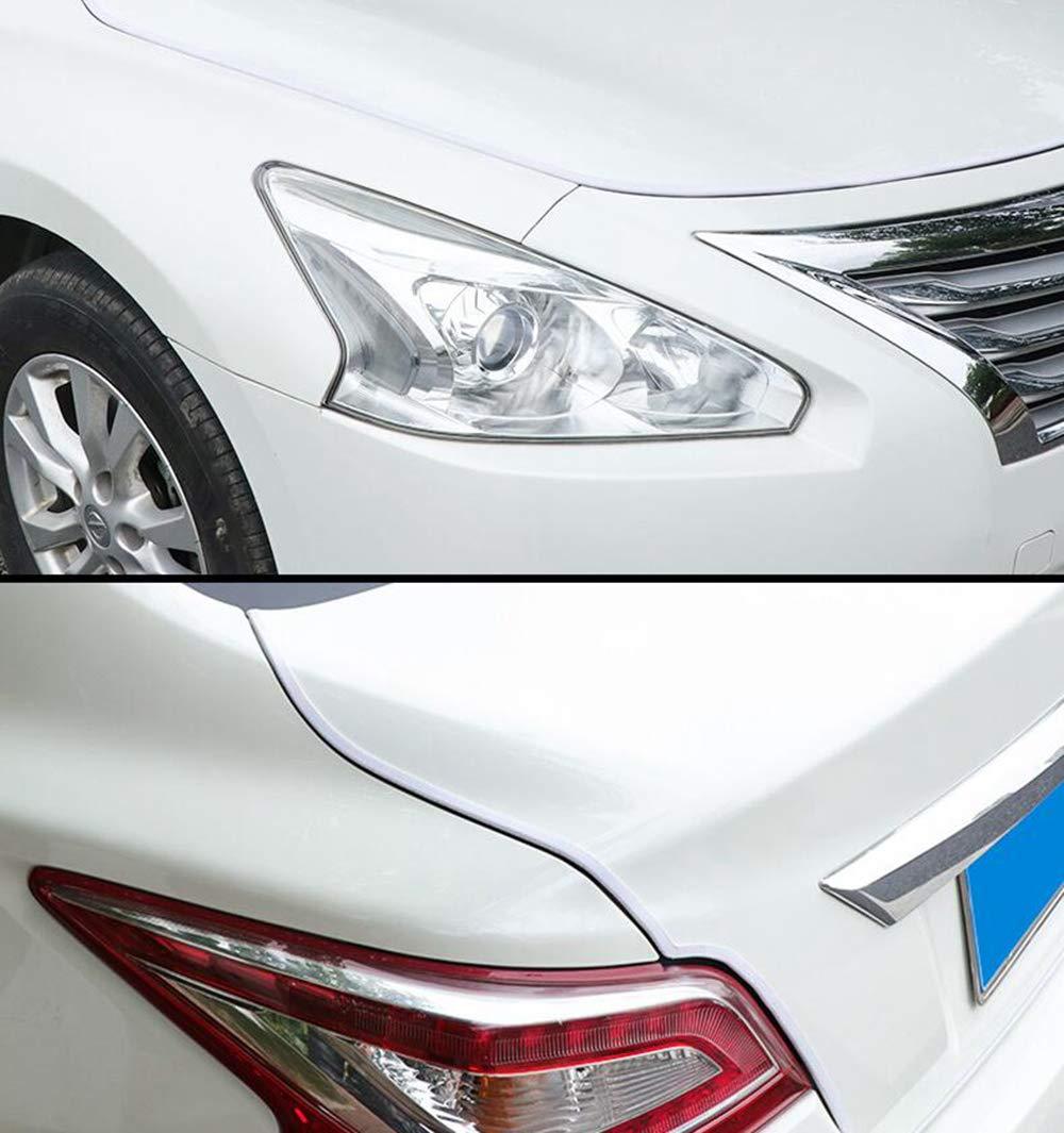 Acciaio per Molle a Forma di U Allinterno Striscia Protettiva per Porte di Automobili Tuokay 10M Guarnizione Porta Auto Non /è Necessario Incollarlo Striscia di Protezione Della Porta Bianco