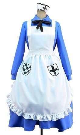 Amazon.com  APH Axis Powers Hetalia Nyotalia England UK Women Cosplay  Costume Dress  Clothing 5772b1614