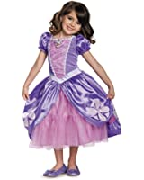 Next Chapter Deluxe Sofia The First Disney Junior Costume, Medium/3T-4T