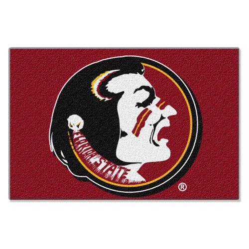Florida State Tufted Rug (NCAA Florida State Seminoles Tufted Rug 20-inch x 30-inch)