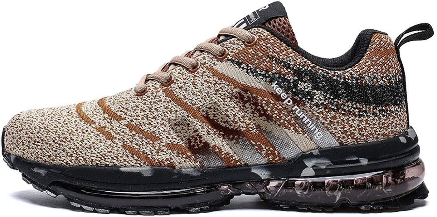 Kuako Hombre Zapatos para Correr Transpirables Resistente Running Zapatillas de Deporte Mujer: Amazon.es: Zapatos y complementos