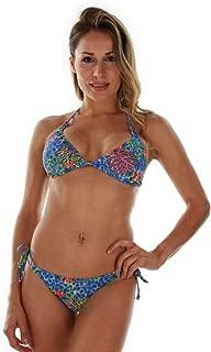 product image for TOP ONLY Tan Through Blue Fiji String Bikini Top