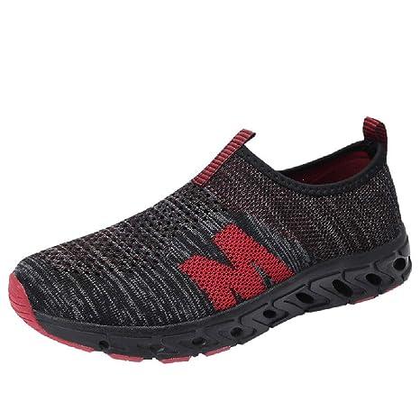 Bestow Zapatillas de Malla para Hombre Zapatillas de Malla cómodas Zapatillas de Deporte para Hombre: Amazon.es: Ropa y accesorios