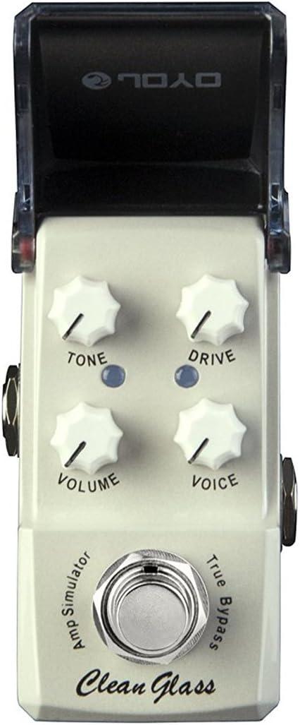 JOYO JF-307 Clean Glass Amp Sim mini-efectos para guitarra Pedal ...