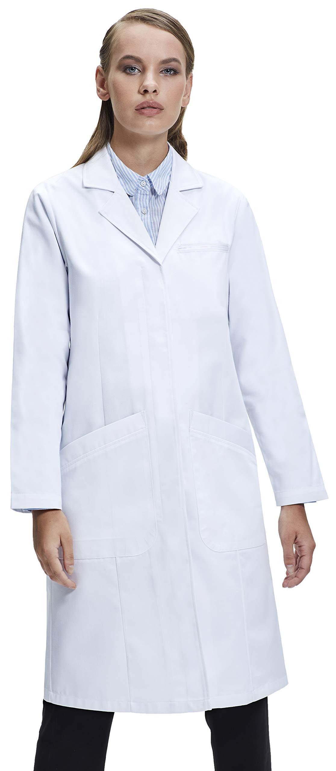 Dr. James Women's Classic Fit Lab Coat (39 Inch Length) US 6