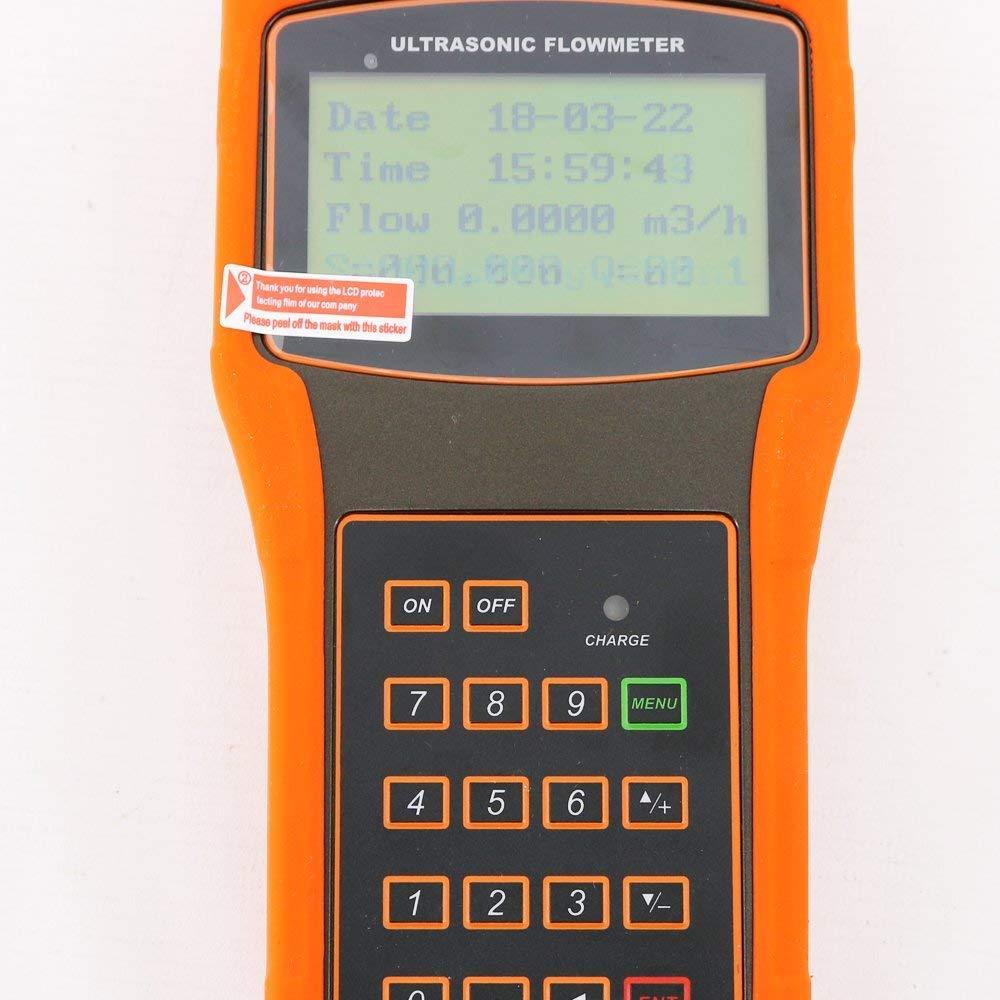 HFBTE TUF-2000H+TM-1 Ultrasonic Flow Meters Flowmeter DN50~700mm 1.97-27.56in with TM-1 Standard Medium Transducer
