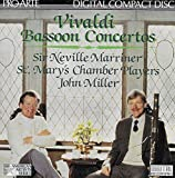 John Miller plays Vivaldi Bassoon Concerti/Concertos RV 477 483 484 504 (Pro Arte)