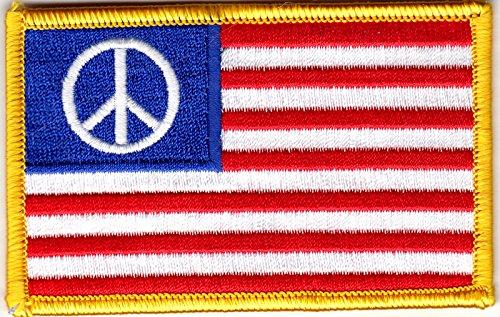 Peace Flag Patch - 3