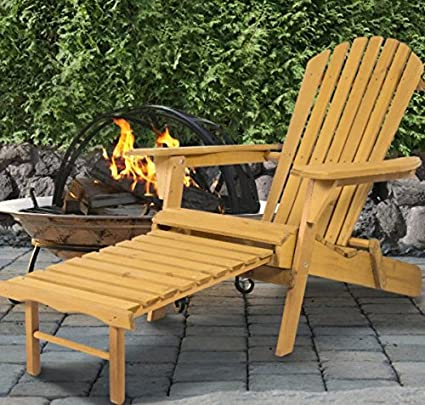 Adirondack Chairs Resin Foldable AND Pull Out Ottoman,Create A Rustic And  Relaxed Atmosphere On