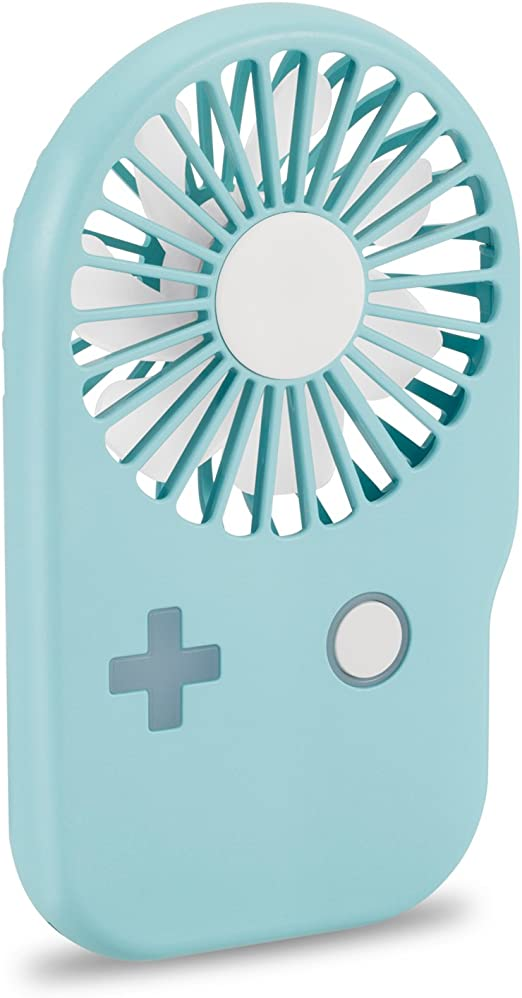 Handheld Mini Pocket Fan USB Rechargeable Adjustable Cooling for Women Kids Home Office Travel