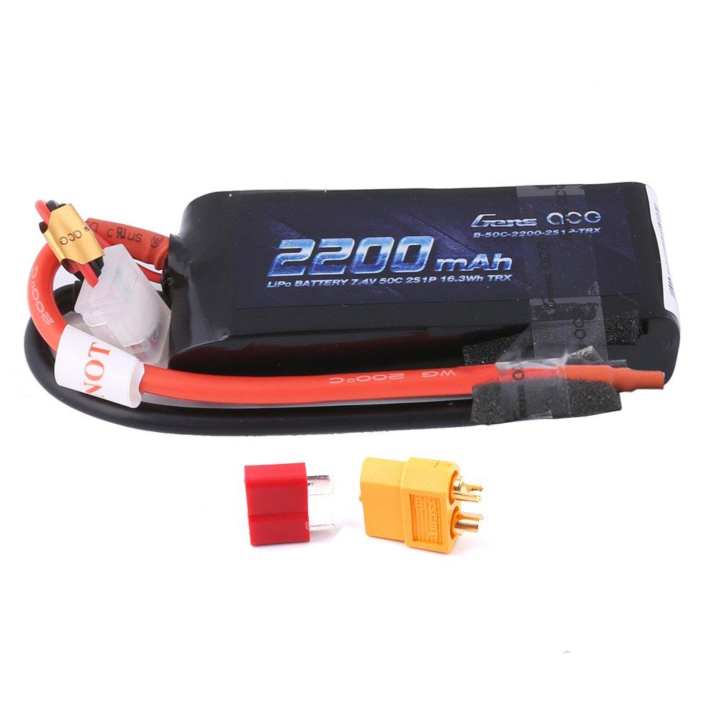 Bateria 2200mah 7.4v 2s 50c Lipo Rc Traxxas 1/16 E-revo Vxl