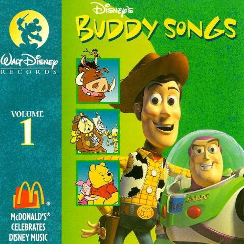 Disney's Buddy Songs, Volume 1:  Mc Donald's Celebrates Disney Music by Amazon