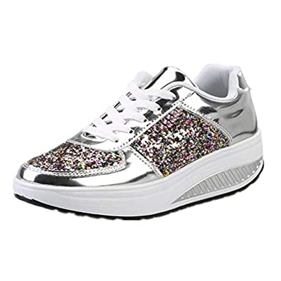 beautyjourney Scarpe sneakers estive eleganti donna scarpe da ginnastica  donna scarpe da corsa donna Sportive Scarpe 7ba1ae73a83