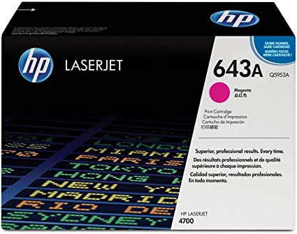 Hp 643a Magenta Original Laserjet Tonerkartusche Bürobedarf Schreibwaren