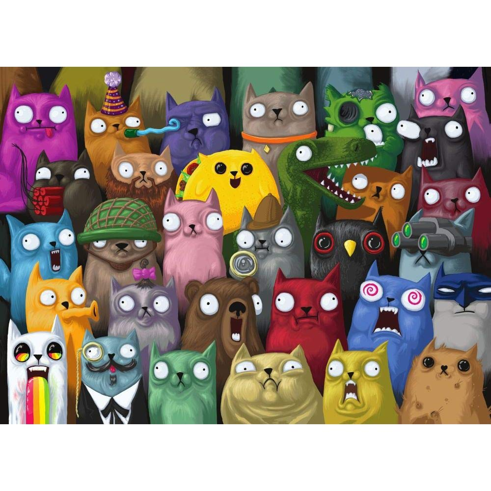 Outset Media - Exploding Kittens: Picture Purrfect 1000-Piece Puzzle