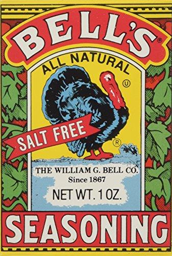 Bell's All Natural Salt Free Seasoning 1 oz (Pack of 12) by Bells