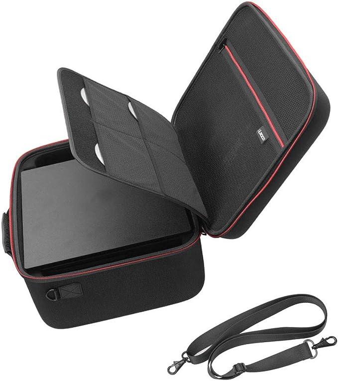 RLSOCO Bolsa de Transporte Funda para Playstation 4 & Playstation 4 Pro Consola, PS4 Mando,Auriculares Juegos, Videojuego DVDs y Otros Accesorios-PS4 & PS4 Pro Funda: Amazon.es: Videojuegos