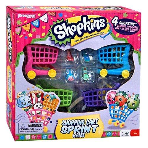 Shopkins Shopping Cart Sprint Game -