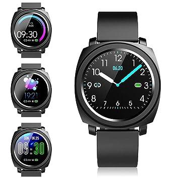 Smartwatch Reloj Inteligente - Pulsera Actividad Mujer Hombre Reloj Deportivo Inteligente, Impermeable Reloj de Fitness Tracker con Pulsometro ...