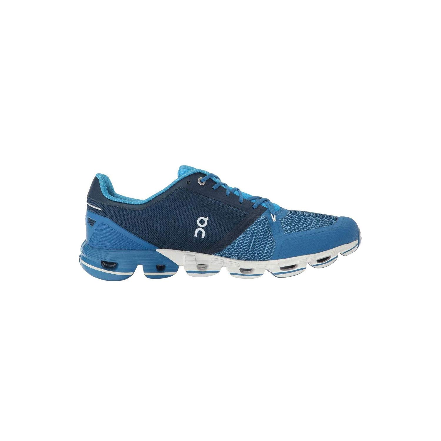 On-Running Mens Cloudflyer Blue White Running Shoe – 10.5