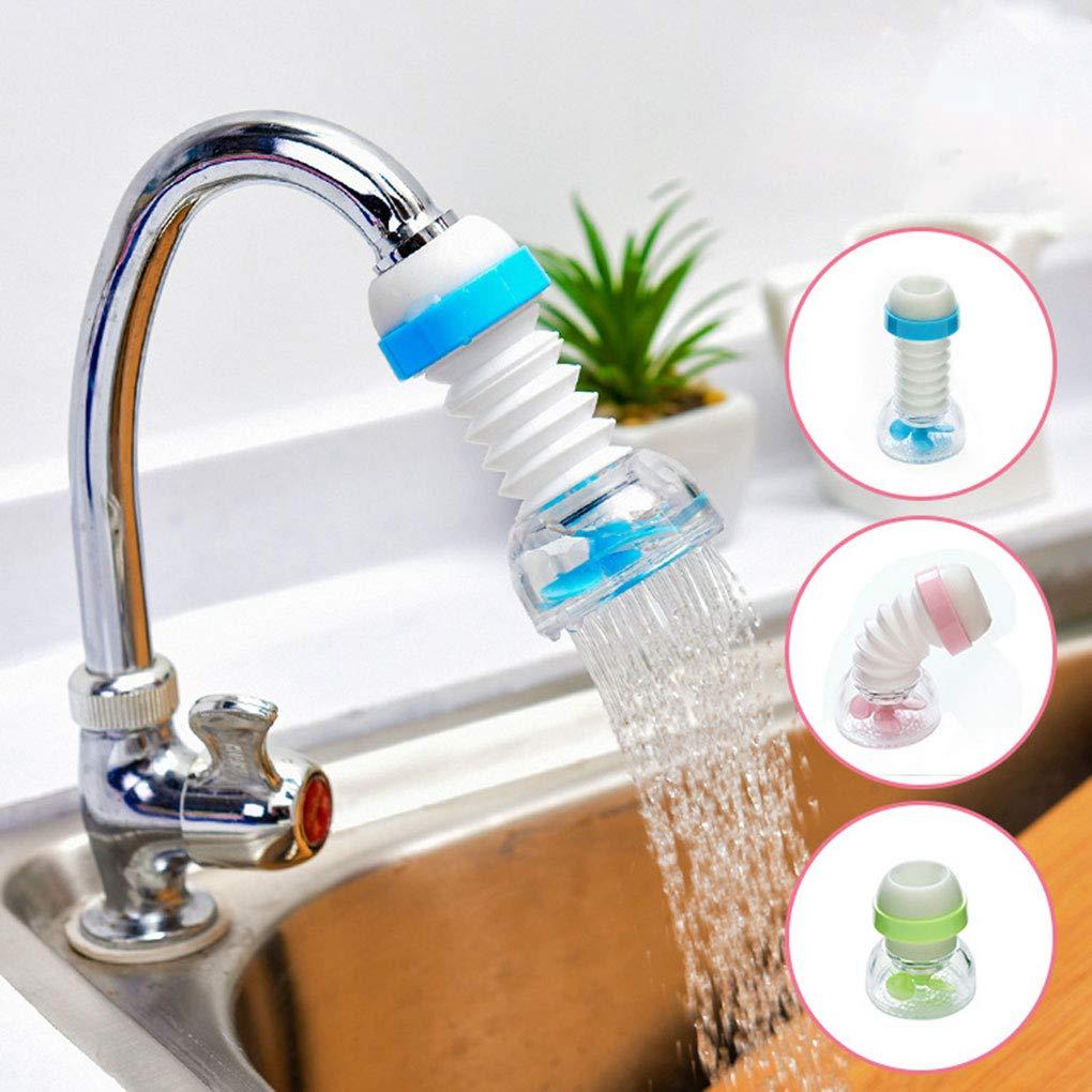 Floridivy Faucet Extender Filter Faucet Water Splashproof Faucet Bendable Water Tap Water Saving Faucet