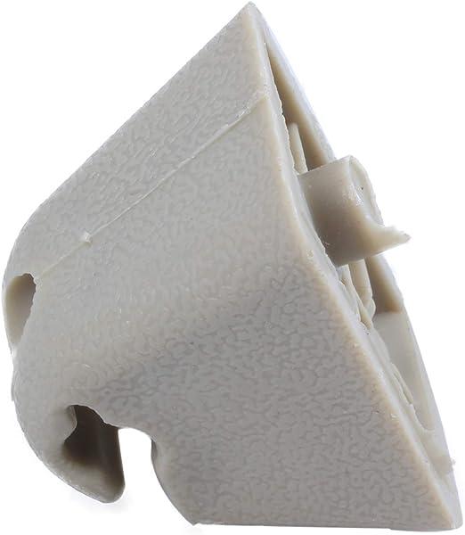 SODIAL Beige Supporto per Gancio per Parasole Staffa per Gancio per Vauxhall Corsa Astra Vectra TIGRA VIVARO