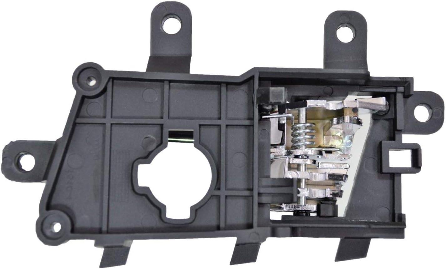 Rear Right Passenger Side Chrome Interior Inner Inside Door Handle PT Auto Warehouse KI-2206M-RR
