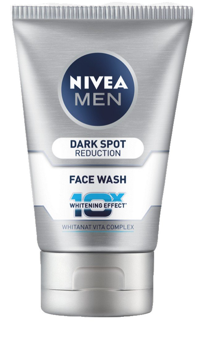 Nivea Men Dark Spot Reduction Face Wash (10x Whitening), 100 ML by Nivea